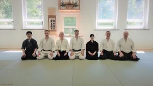 Hashimoto, Tomek, Inaba sensei, Andrzej, Fukutoku, Endo, Adam